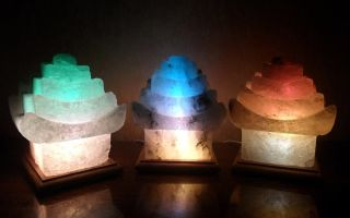 Как работает соляная лампа?