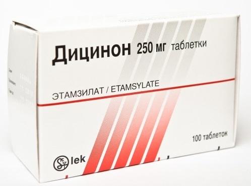 Дицинон в ампулах. Инструкция по применению, дозировка, цена