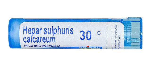 Гепар сульфур, гомеопатия. Показания к применению, инструкция, цена, отзывы