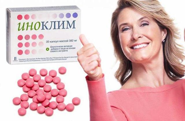 Иноклим. Отзывы женщин и врачей при климаксе. Состав препарата, инструкция по применени